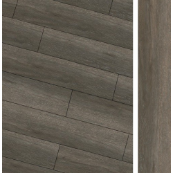 Carrelage imitation parquet rectifié Maryland Nogal R10 20x114 cm - 1.14m² Baldocer
