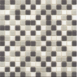 Mosaique piscine Mix de Gris bleuté GREY 32.7x32.7 cm - 2.14m² Ston
