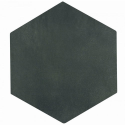 Carrelage tomette gris anthracite 22.5x26cm CONCRET OSLO - 0.66m²