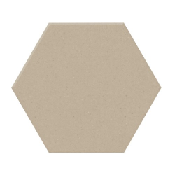 Carrelage tomette design unie Beige CREAM 15x17cm NEW PANAL - 0.5m²