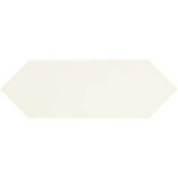 Faience navette crayon beige brillant 10x30 PICKET IVORY - 1m² - zoom