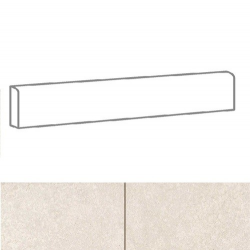 Plinthe imitation carreaux de ciment SKYROS BLANCO 8x44 cm - 6.60 ml Realonda