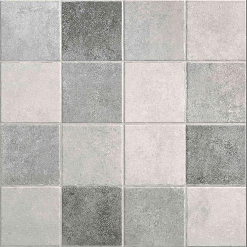 Carrelage sol ou mur style ancien PROVENZA GRIS 44x44 cm - 1.37m² - zoom