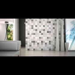 Carrelage sol ou mur style ancien PROVENZA GRIS 44x44 cm - 1.37m² Realonda
