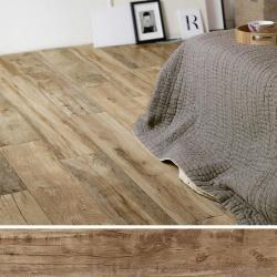Carreau imitation bois 20x120 cm WOODMANIA Caramel - 0.96 m²