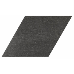 Carrelage losange géant noir 70x40 DIAMOND CITY BLACK - 0.98m² Realonda