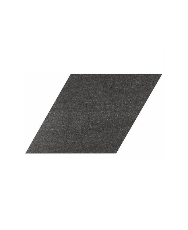 Carrelage losange géant noir 70x40 DIAMOND CITY BLACK - 0.98m² Realonda