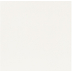 Carrelage uni blanc 33x33 cm HANOI WHITE - 1m²