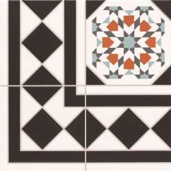 Carrelage 33.3x33.3 cm OXFORD DECO ESQUINA Angle - unité