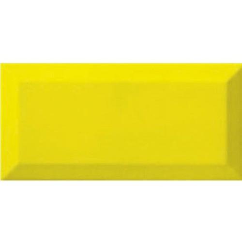 Carreau métro Jaune Limon 7.5x15 cm - 1 m² Ribesalbes