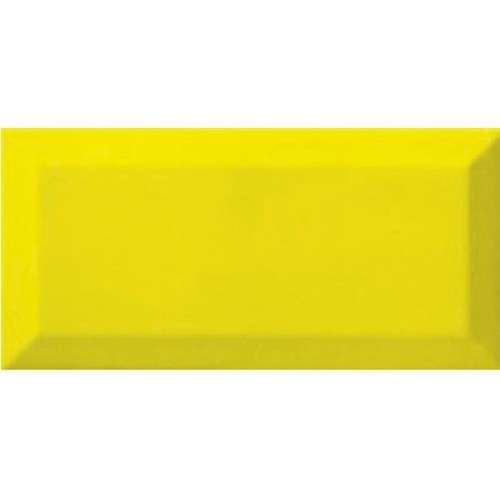 Carreau métro Jaune Limon 7.5x15 cm - 1 m² - zoom