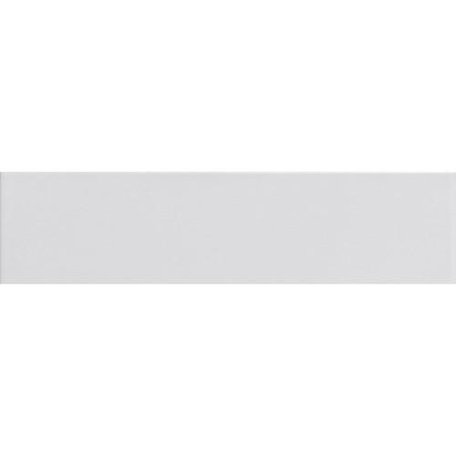 Carreau métro plat blanc mat 10x30 cm - boite de 1.02m² - zoom