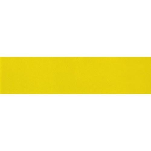 Carreau métro plat jaune brillant 10x30 cm - boite de 1.02m² - zoom