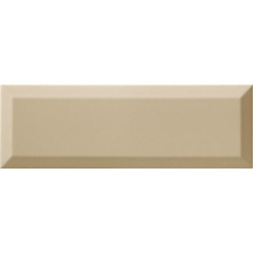 Carrelage Métro biseauté 10x30 cm olive beige brillant - 1.02m² Ribesalbes