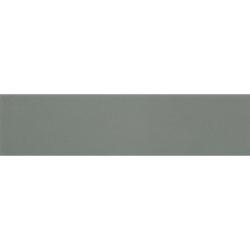 Carreau métro plat vert cendré brillant 10x30 cm Sage - boite de 1.02m² Ribesalbes
