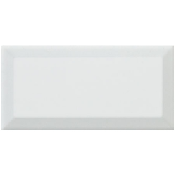 Carreau métro Blanc brillant 7,5x15 cm - 1 m² Realonda