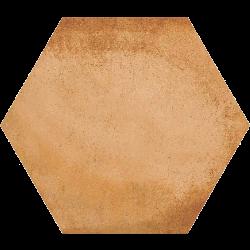 Carrelage hexagonal tomette décor 23x26.6cm BAMPTON Natural - 0.50m²