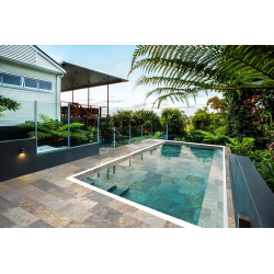 Carrelage piscine effet pierre naturelle SAHARA MIX 30x60 cm antidérapant R11 - 1.08 m²