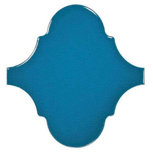 Carreau bleu électrique 12x12cm SCALE ALHAMBRA ELECTRIC BLUE - 0.43m² Equipe