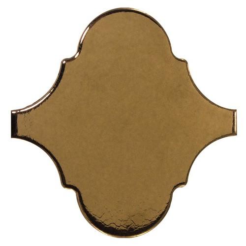 Carreau or métallisé 12x12cm SCALE ALHAMBRA METALLIC - 0.43m² - zoom