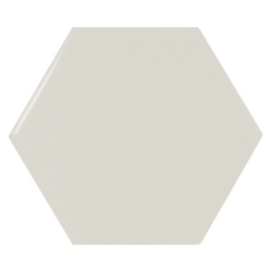 Carreau menthe brillant 12.4x10.7cm SCALE HEXAGON MINT - 0.61m²