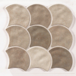 Carreau écaille beige 30x30 SCALE MUD - 0.85m²