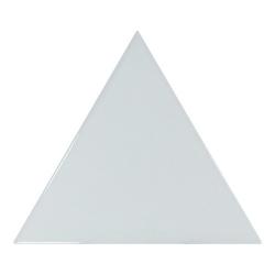 Carreau bleu ciel brillant 10.8x12.4cm SCALE TRIANGOLO SKY BLUE - 0.20m²