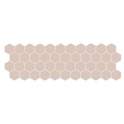 Carreau mini tomette beige 17x52 cm TALARA BEIGE - 1.20m²
