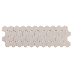 Carreau mini tomette grise 17x52 cm TALARA GREY - 1.20m²