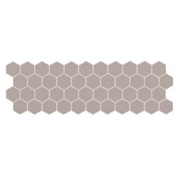 Carreau mini tomette gris foncé 17x52 cm TALARA MOSS - 1.20m²