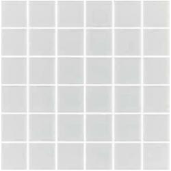 Mosaique blanche 5x5 sur trame 30.7x30.7 ANTI BLANCO B8 - 2 m²
