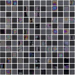 Mosaique moderne TOKYO 2.5x2.5 sur trame 33.4x33.4 - 2 m²