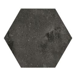 Carrelage hexagonal noir 29.2x25.4cm URBAN HEXAGON DARK 23515 - 1m²