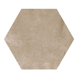 Carrelage hexagonal beige marron 29.2x25.4cm URBAN HEXAGON NUT 23513 - 1m²