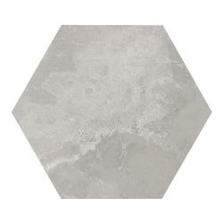 Carrelage hexagonal gris 29.2x25.4cm URBAN HEXAGON SILVER 23514 - 1m²