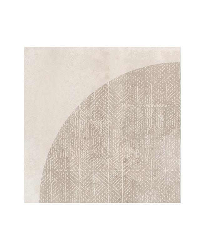 Carrelage imitation ciment décor beige 20x20cm URBAN ARCO NATURAL 23585 - 1m² Equipe