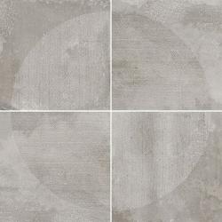 Carrelage imitation ciment décor gris 20x20cm URBAN ARCO SILVER 23587 - 1m² Equipe