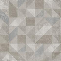 Carrelage imitation ciment décor gris 20x20cm URBAN FOREST SILVER 23611 - 1m²