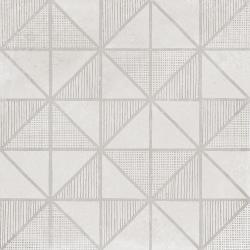 Carrelage imitation ciment décor blanc 20x20cm URBAN HANDMADE LIGHT 23536 - 1m² Equipe