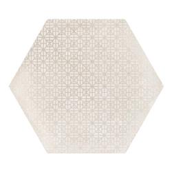 Carrelage hexagonal décor beige 29.2x25.4cm URBAN HEXAGON MÉLANGE NATURAL 23601 - 1m²