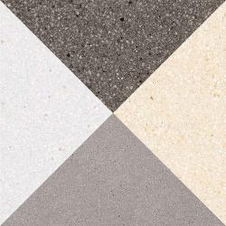 Carrelage style scandinave triangles 20x20 cm CESTIO multicouleur - 1m² Vives Azulejos y Gres