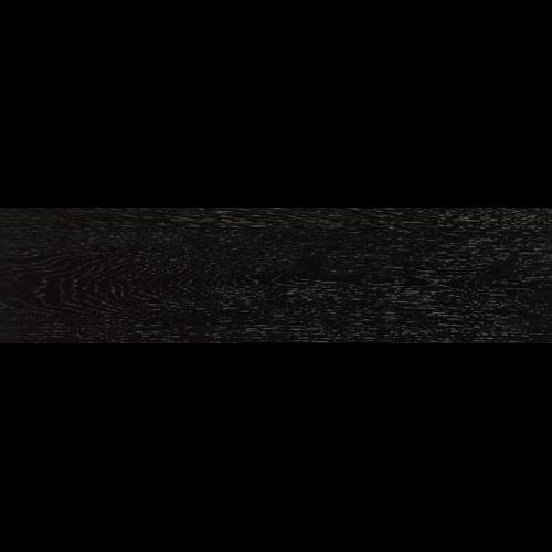 Carrelage ARHUS noir imitation parquet style chevron rectifié 14.4x89 - zoom