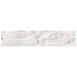 Parement mural blanc imitation pierre 8.1x41.5cm ATALAYA-C BLANCO - 0.50m² Vives Azulejos y Gres