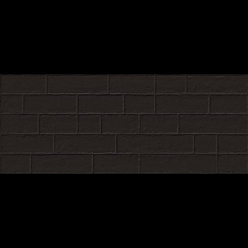 Parement mural briquettes noires Marlon Edale Negro 20x50cm - 1m² - zoom