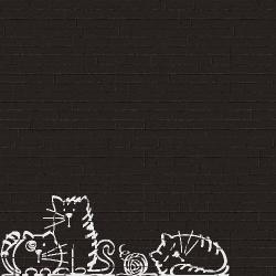 Parement mural briquettes noires Marlon Edale Negro 20x50cm - 1m² Vives Azulejos y Gres