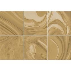Faïence effet terre mêlée caramel 23x33.5 cm MANKAI CARAMELO - 1m² Vives Azulejos y Gres