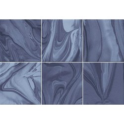 Faïence effet terre mêlée bleu marine 23x33.5 cm MANKAI INDIGO - 1m² Vives Azulejos y Gres