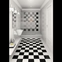 Carrelage blanc mat 31.6x31.6 ALASKA - 1m² Vives Azulejos y Gres