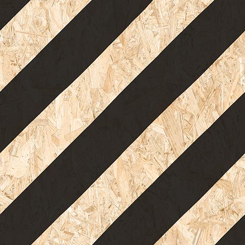 Carrelage imitation bois aggloméré NENETS NOIR 59.3X59.3 cm - 1.06 m² Vives Azulejos y Gres
