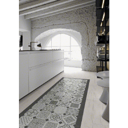 Carrelage octogonal décoré 20x20 mat et cabochons VARIETTE - 1m² Vives Azulejos y Gres